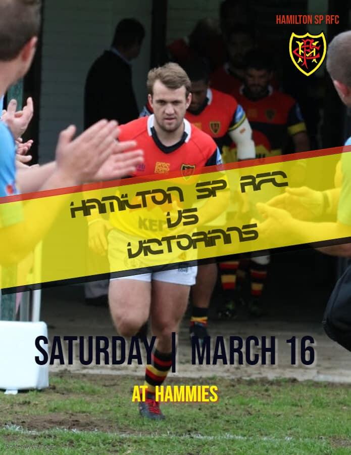 Hammies vs Victorians: 16 March 2019