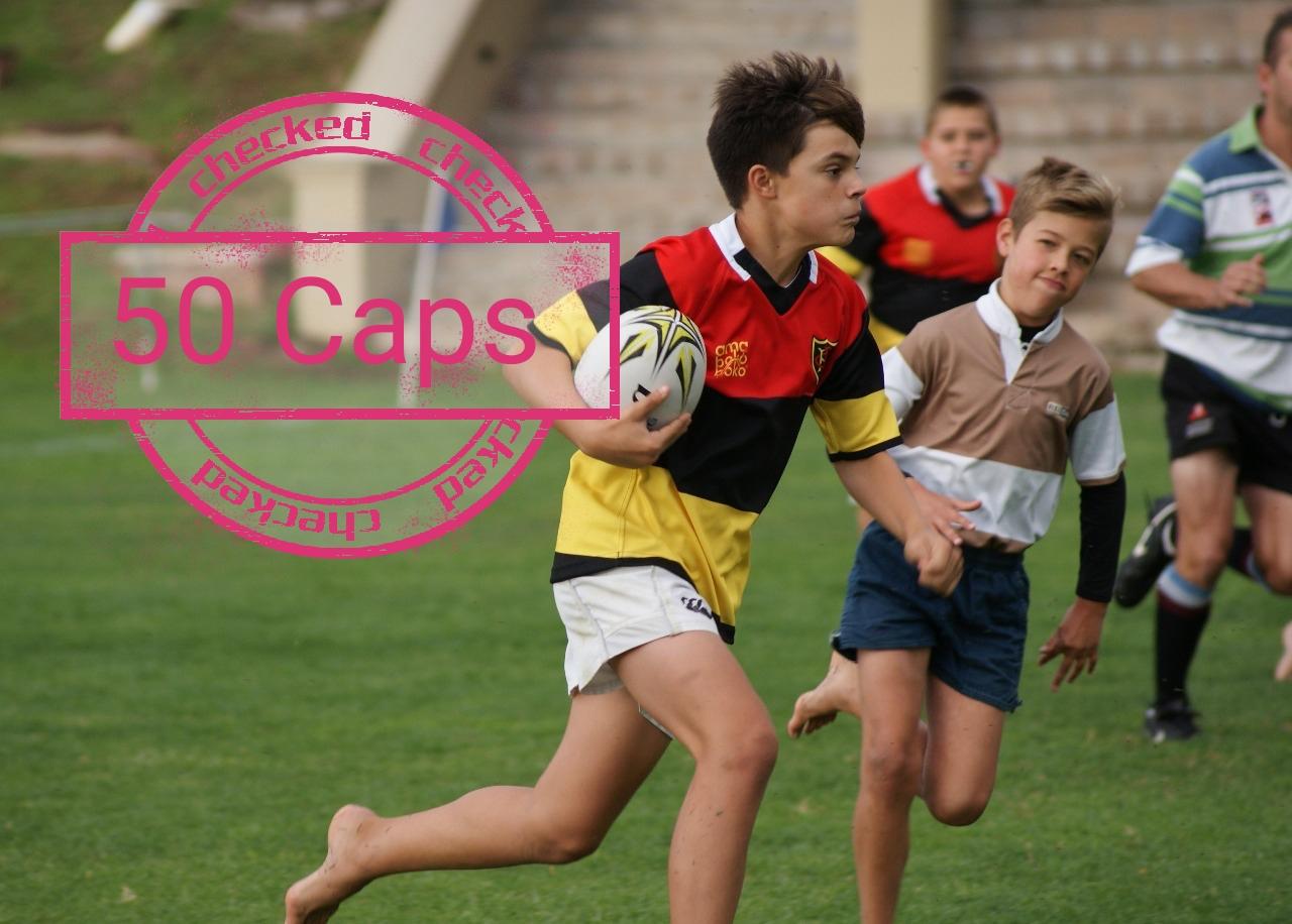 50 Cap Achievement: Luca Simone & Luke Mardell