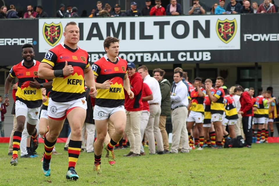 Hamilton Provincial, Springboks and Referees